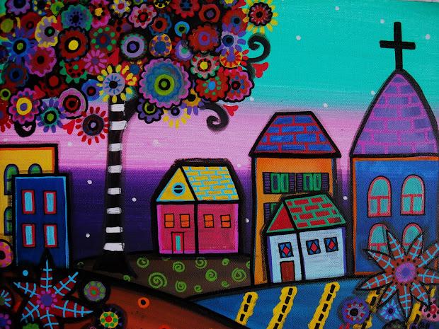 Mexican Folk Art Paintings