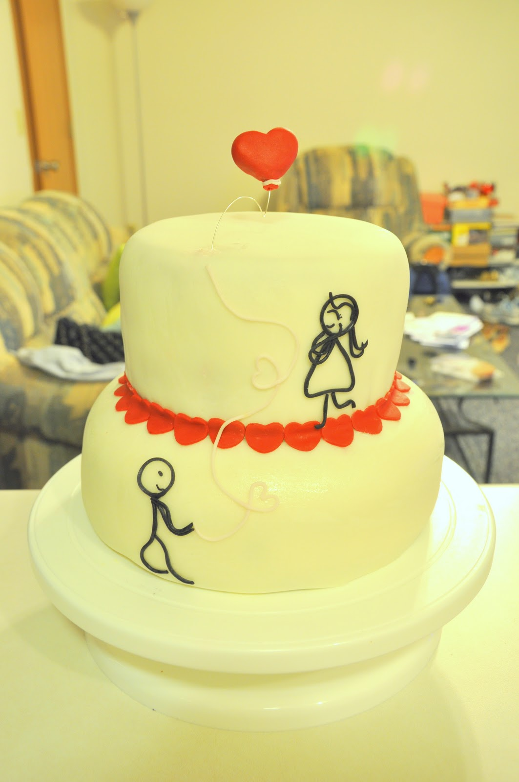 Face Your Batter Boy Meets Girl Cake