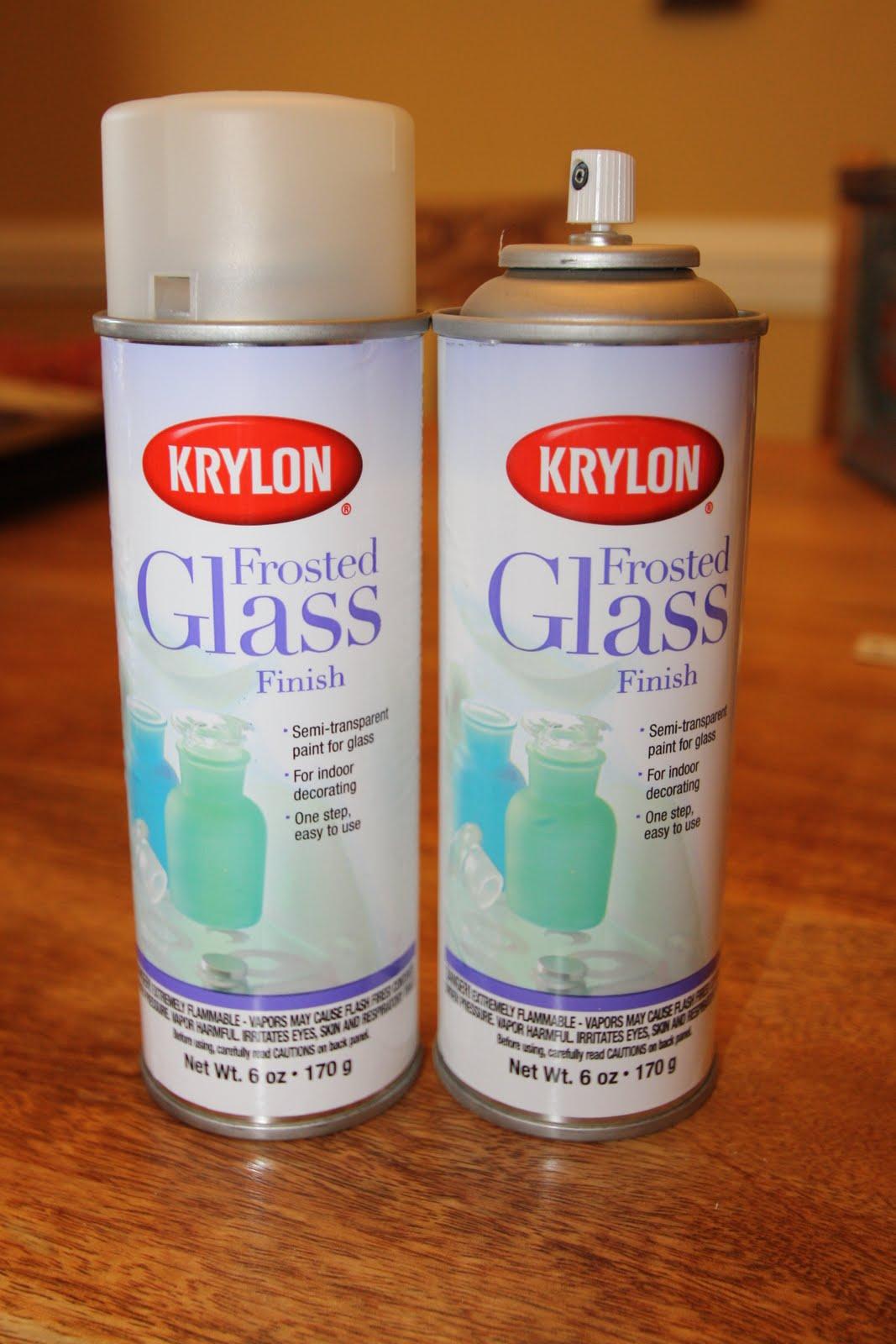 Krylon Frosted Glass Spray Home Depot