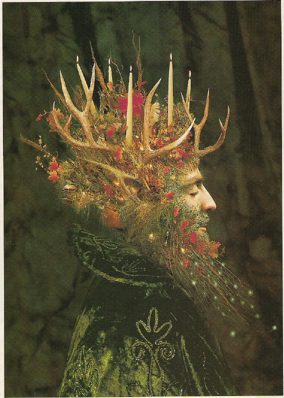 art of the beautiful-grotesque: Yule and Solstice