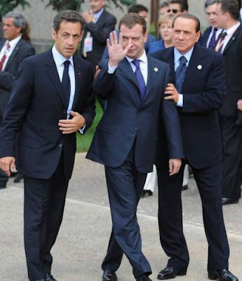 Dmitry Medvedev G8 Summit