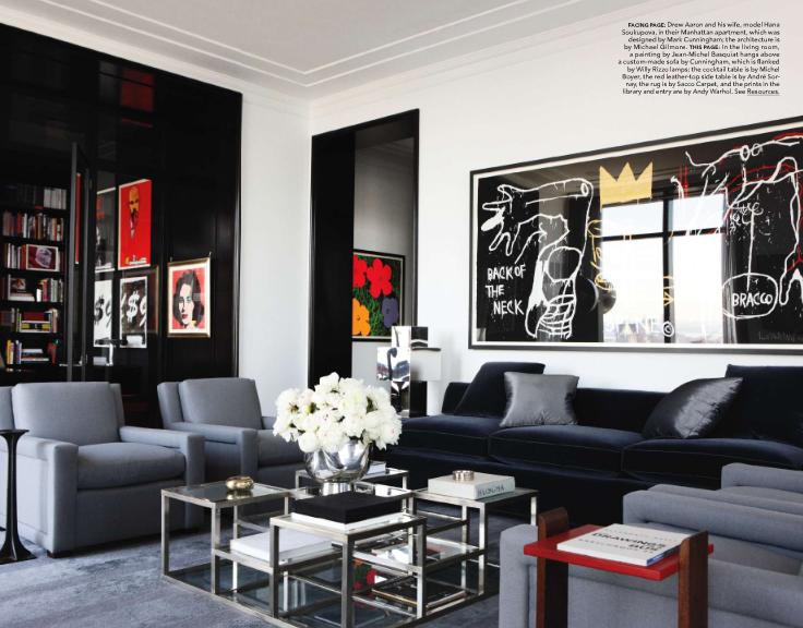 New York condo rental - Urban Masculine Decor In An Apartment