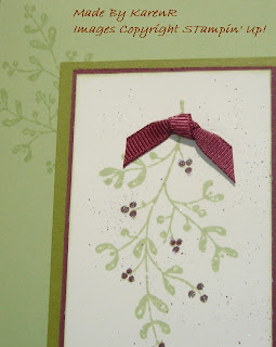 Stampin Up and Peaceful Wishes