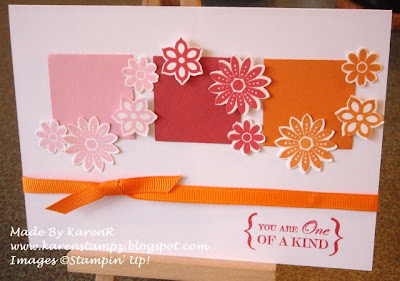 Stampin Up and One of a Kind