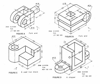 Engineering Drawing 2009: 10-Orthographic Projection Exercise
