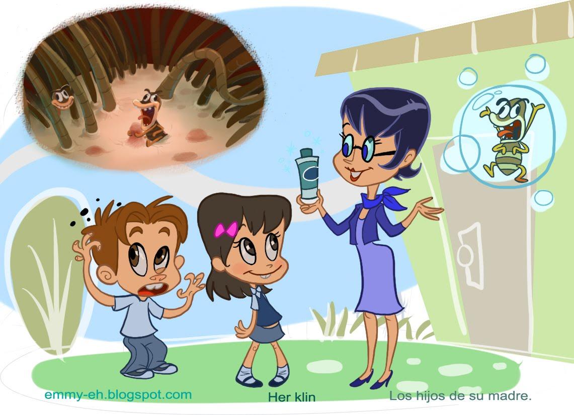 Imagenes De Piojos Animados: EMMY, EH?: Hurgando En Mi Cabeza