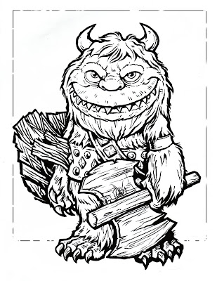 Scary Monster Coloring Pages Masks Coloring Pages