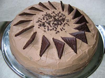 Cozinha Fcil Torta Chocolate da Mame