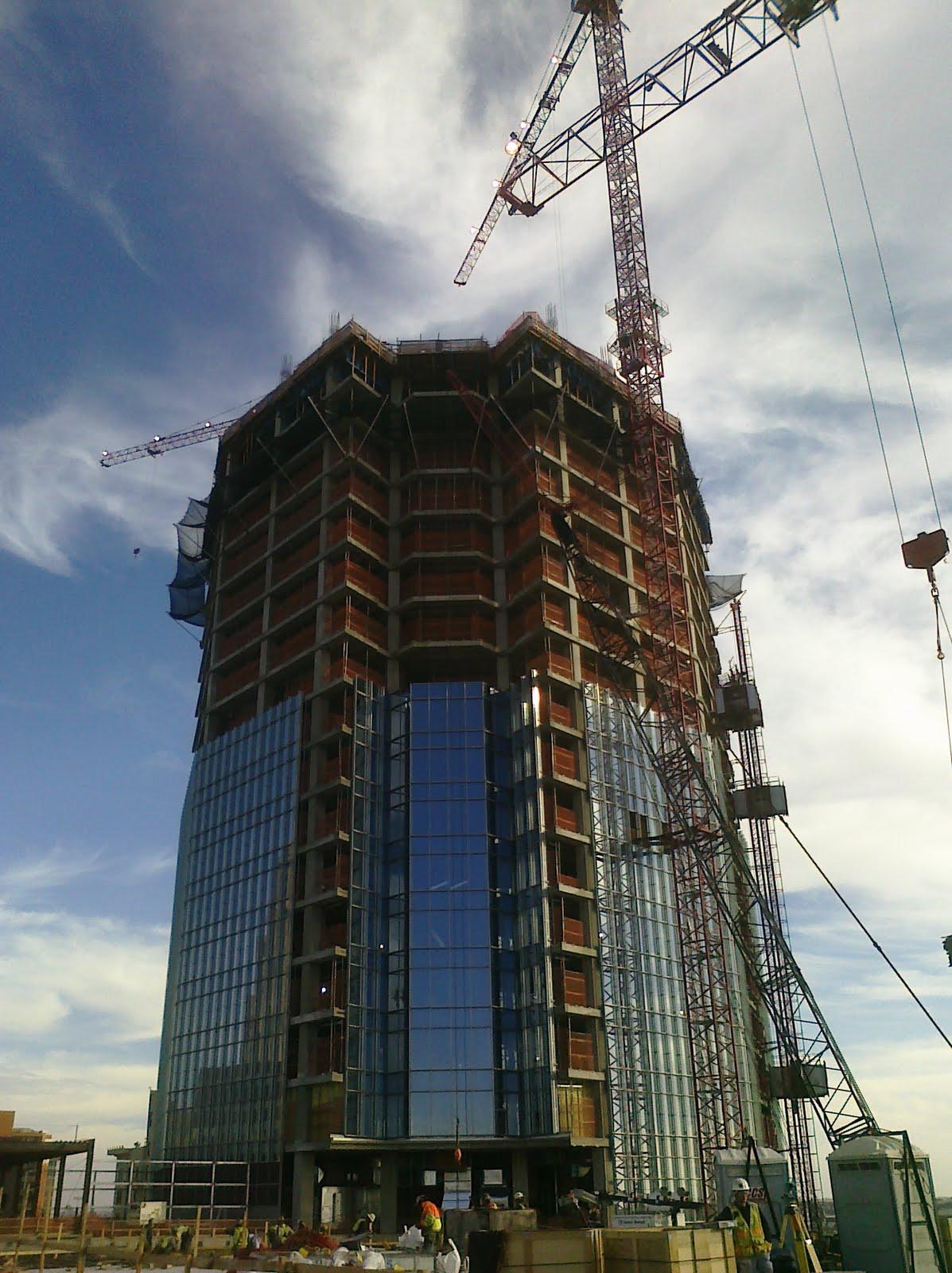 OKC Devon Tower Construction Construction Progress of Devon Tower 12092010