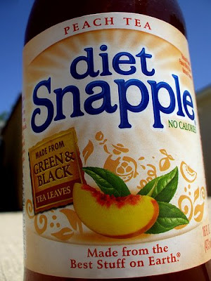 Diet Peach Tea Snapple