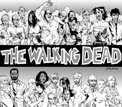Read Comic Online: The Walking Dead Fan page opened!