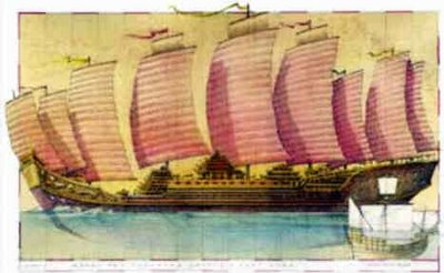 La flota del tesoro de Zheng He los dragones del mar