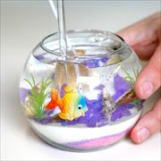 Como hacer velas decorativas de gel con cera transparente.