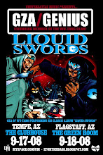 "GZA performing the Album ""Liquid Swords"""