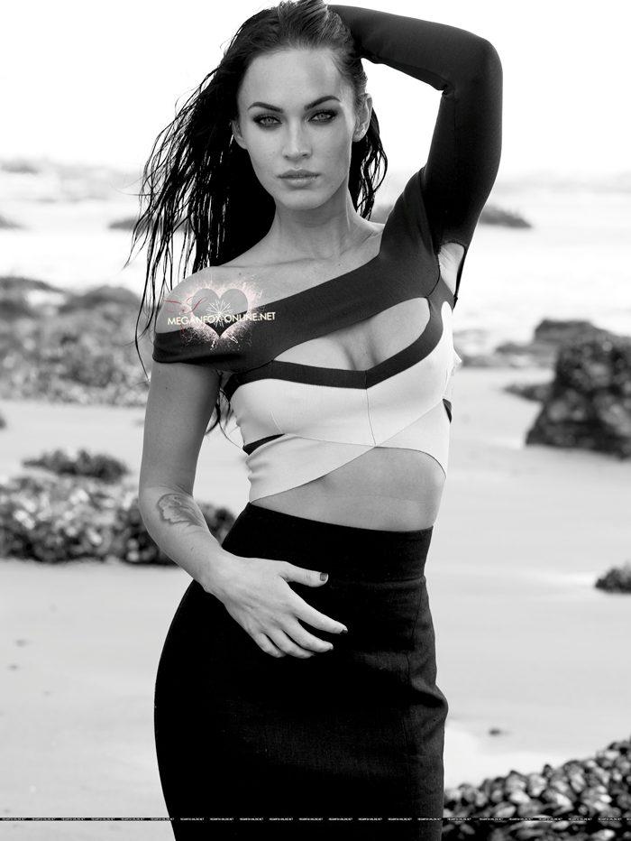 Cute Fashion Girl Wallpapers Funz Only Funz Hollywood Megan Fox Elle Magazine