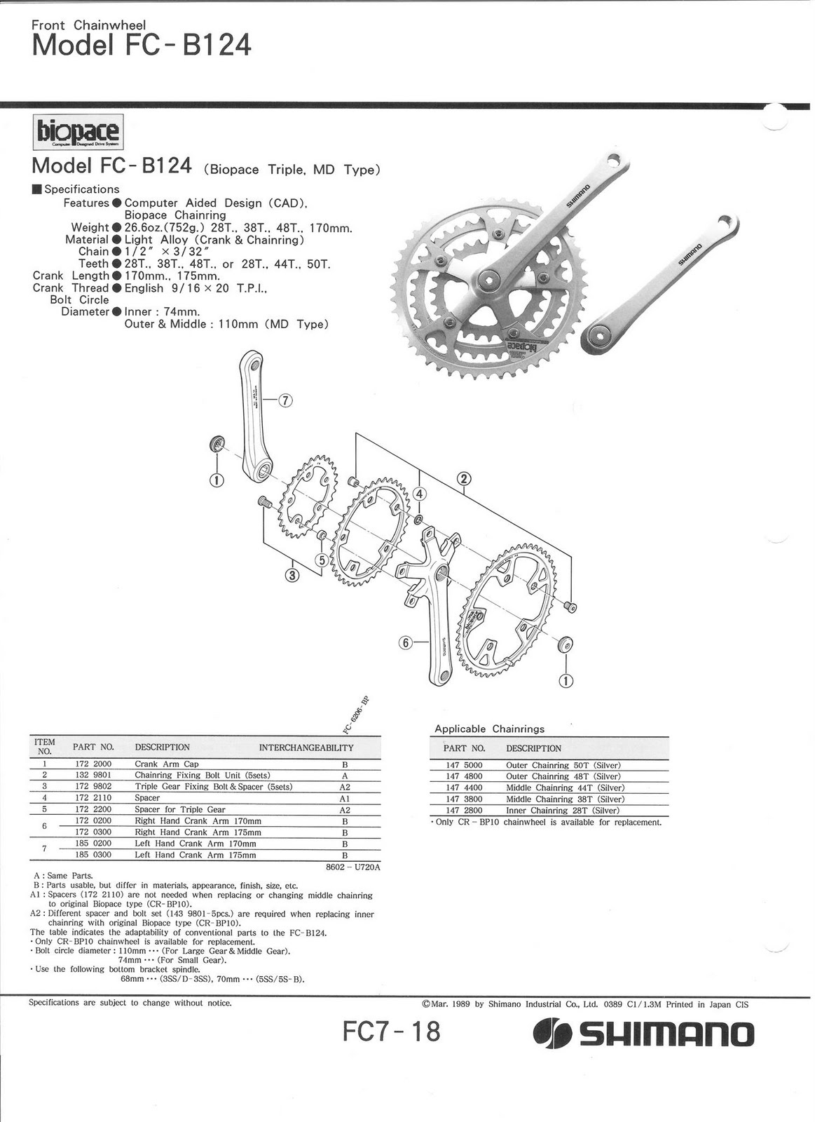 80 U0026 39 S Vintage Parts And Restorations  Exploded Shimano Parts Diagrams For A 1987 Rockhopper
