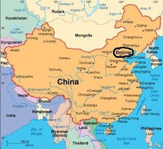 kina kart L og T 's VERDENSREISE!!: Flagg og kart! kina kart