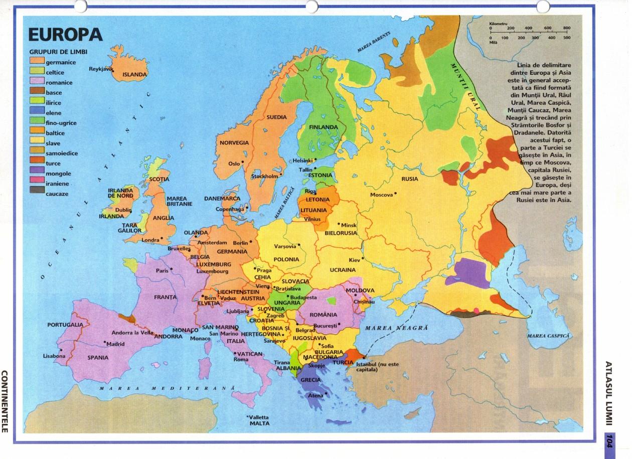 Atlasul Lumii Continentele Lumii