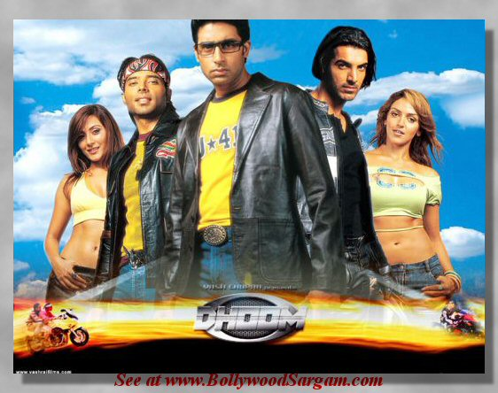 Entertainment never ends!: Dhoom 1 Wallpapers