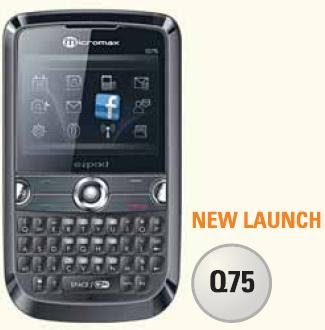 micromax mobile q75 price in kolkata