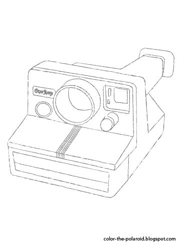 Color-The-Polaroid: Polaroid One-Step