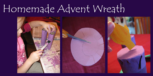 Brimful Curiosities: Homemade Advent Wreath Craft + The Time