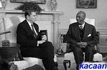 May Allah bless him and give  Somali President Mohamed Siad Barre..and The Honourable Ronald Reagan