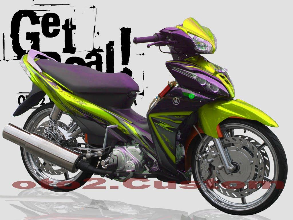 Modifikasi Motor Jupiter Z Modifikasi Sepeda Motor