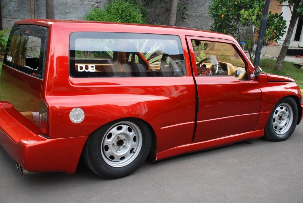 new car modification: Suzuki Escudo 96 full modifikasi