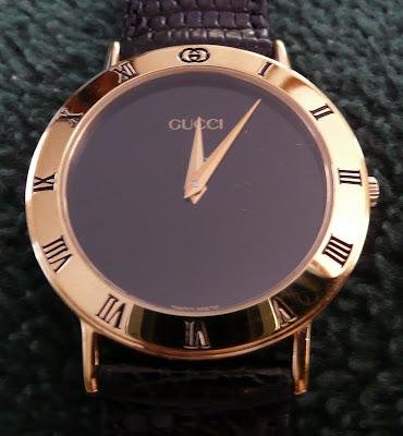 ed83d50b40b My Watch Collection  Swiss Made Gucci Watch Quartz Movement - Model ...