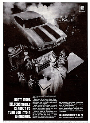 Just A Car Guy Dr Oldsmobile Ads For The 1969 W Machine