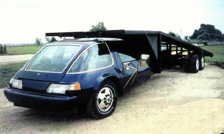 Just A Car Guy Unusual Race Car Haulers Citroens And An Amc Pacer