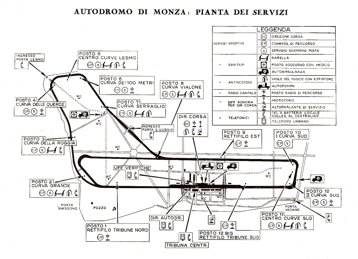 Just A Car Guy Monza Program Many Thanks To Tris