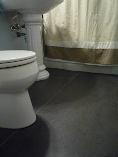 Sausman Floor Coverings Seattle Marmoleum Bathroom Floor