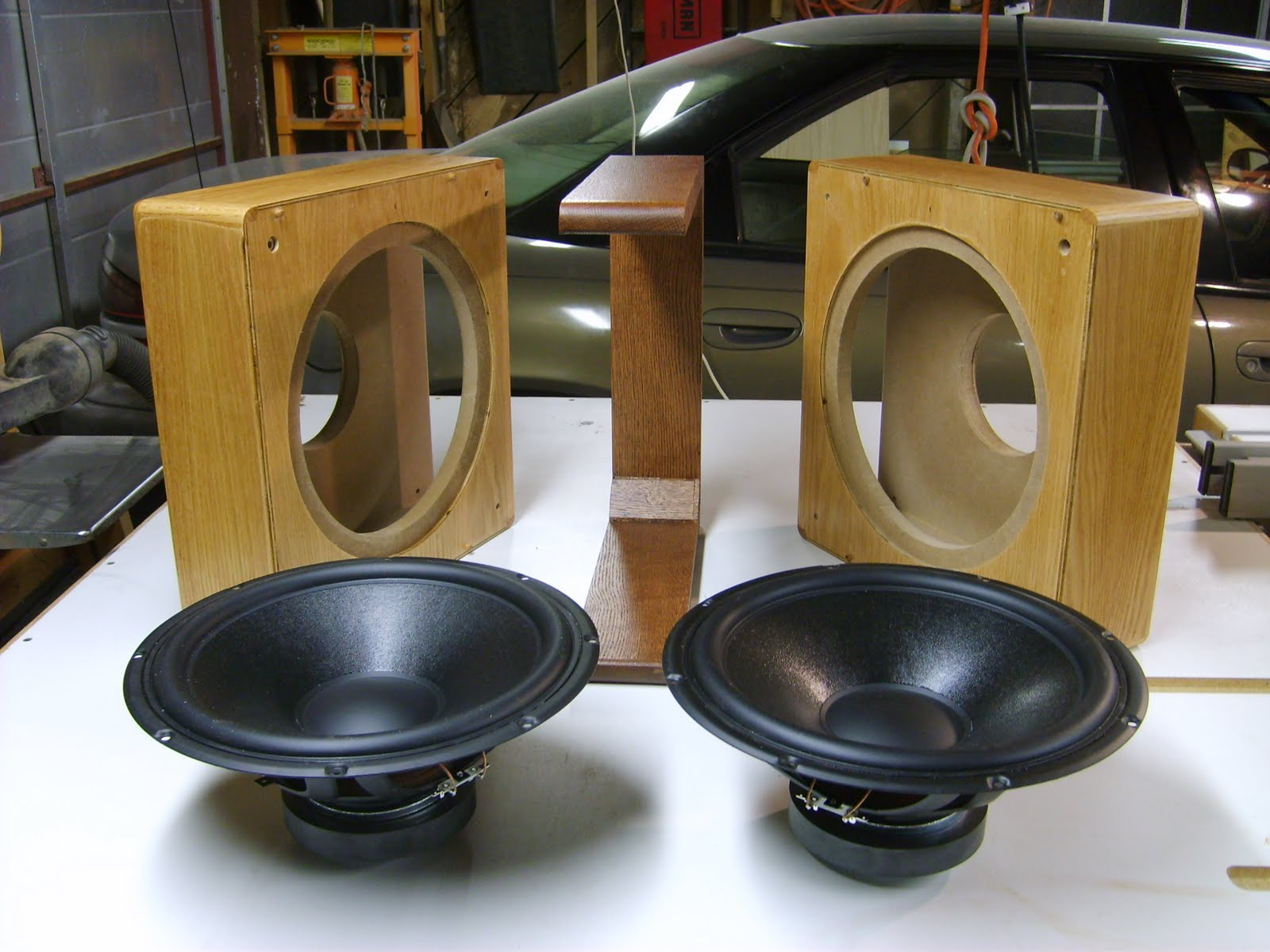 """Pre-Proyecto Open Baffle LII AUDIO Silver 10"""" + Woofer 15"""" 004"""
