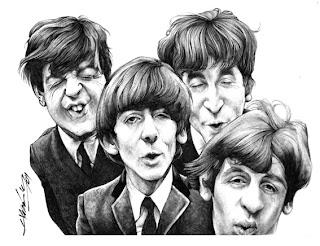 The-Beatles-caricatura
