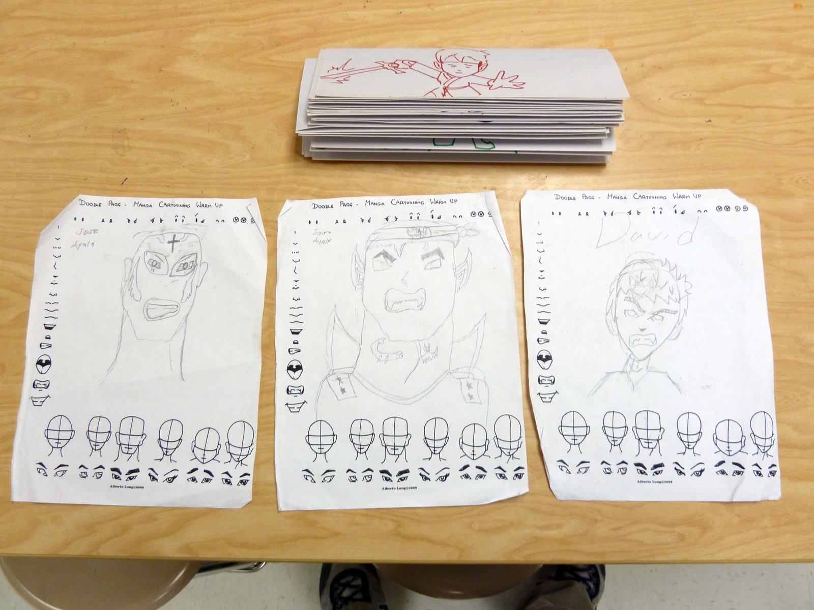 Kid Sketches Gallery Of Students Work