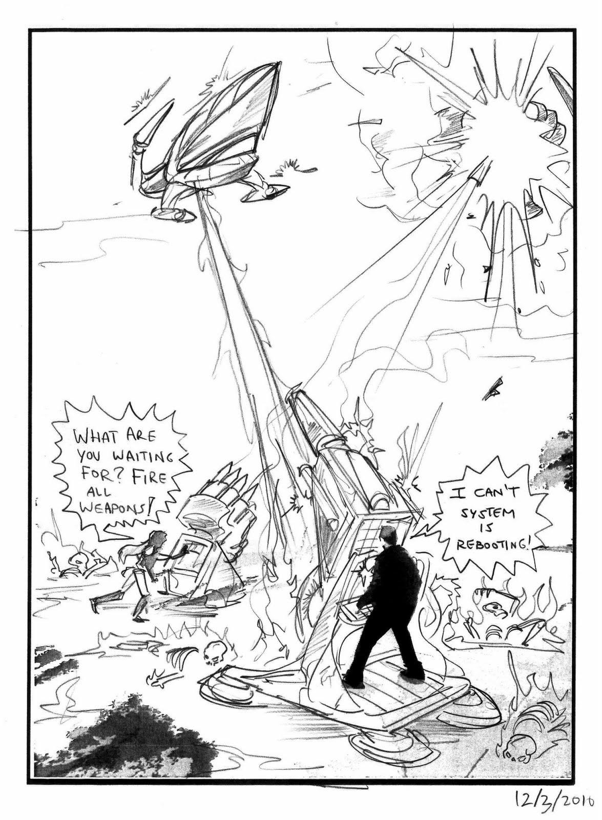 Kid Sketches: Sample Rough Comic Pages Bundle