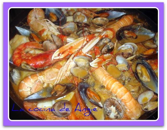 La Cocina De Angie Zarzuela De Pescado Y Marisco