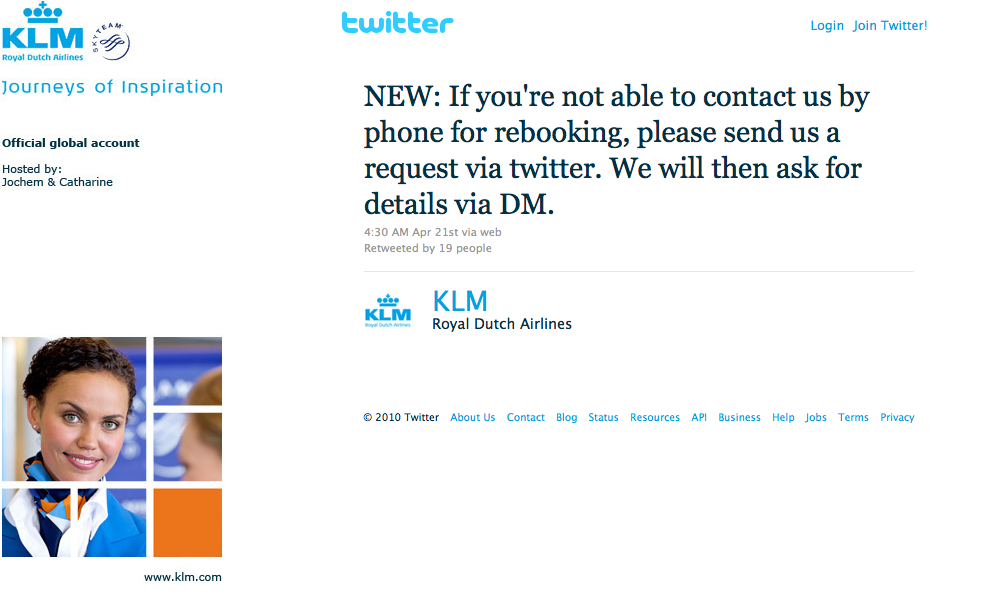 klm airlines manage booking