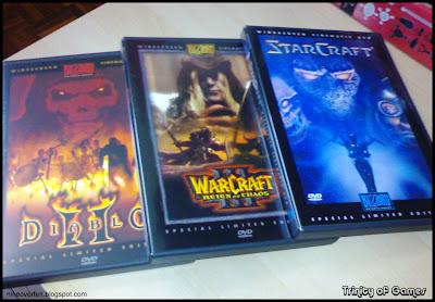 Nine Over Ten 9/10: Blizzard Entertainment DVD Collection: Starcraft