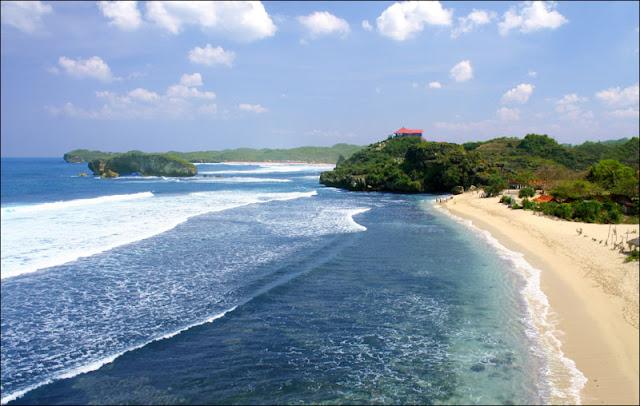 Pantai+Sundak Peta Wisata (Pantai) di Gunungkidul, Yogyakarta