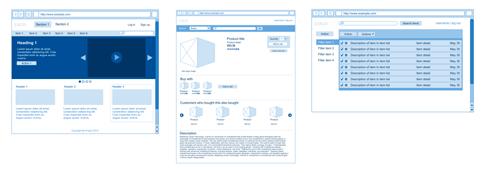 Google Drive Blog: Rapid wireframe sketching in Google Docs