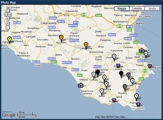 Cartina Geografica Sicilia Sud Orientale.Hermes Blog Archeologia E Turismo In Sicilia Geotagging E Promozione Turistica