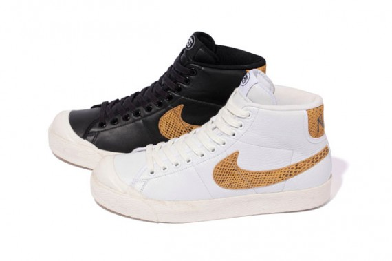 new concept 3c346 bfd45 Stussy X Nike All Court Mid blazers. Stussy and Nike have teamed up to make  a bomb pair of blazers. The partnership is not a new thing, but these shoes  are.