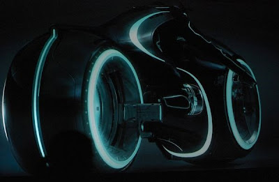 Tron 2 Licht- Motorrad