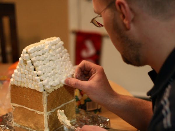 The Graham Cracker Gingerbread House
