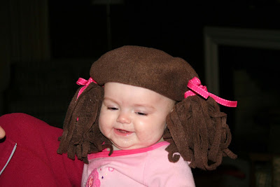 Sew Can Do: Hairdo Hat For Baby