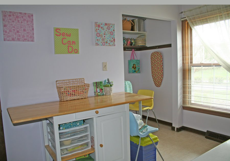 Sew Can Do: $85 Craft Room Unveiling!