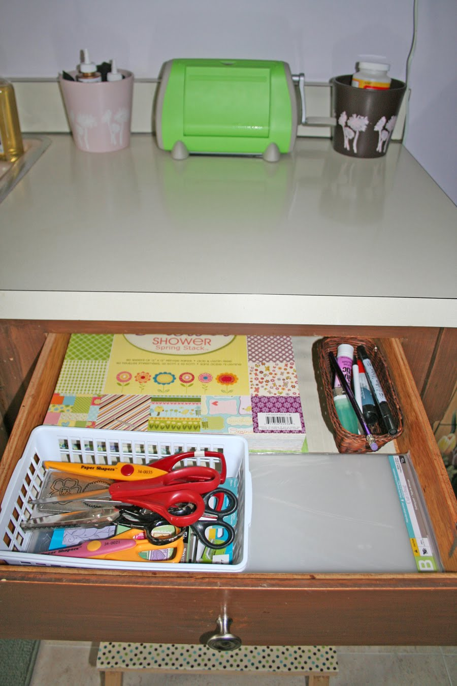 Crafts Table Drawer